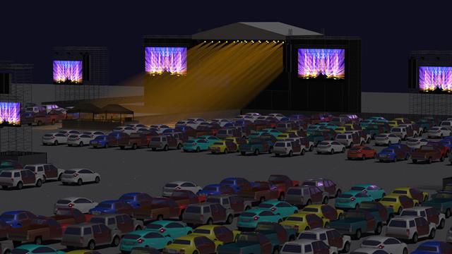 Yıldızlar altında arabalı konserler başlıyor
