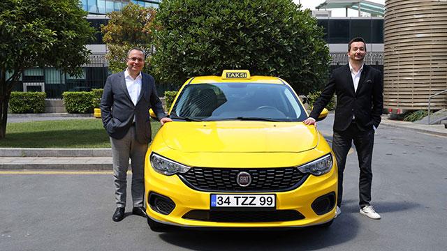 BiTaksi ve Fiat'tan kabinli taksi
