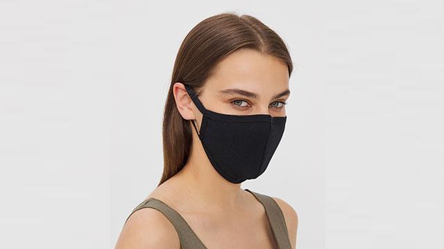 Tekrar kullanılabilir ilk hijyen koruyucu kumaş maskesi Penti'den