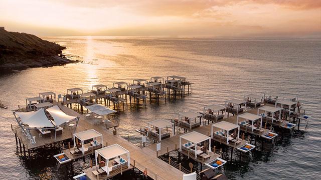 Kıbrıs Elexus Hotel, sosyal mesafeli yeni düzeniyle kapılarını açtı