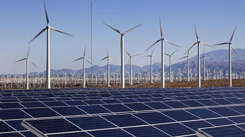 Rüzgar ve güneş enerjisi