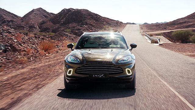 Aston Martin'in ilk SUV'u DBX Türkiye'de