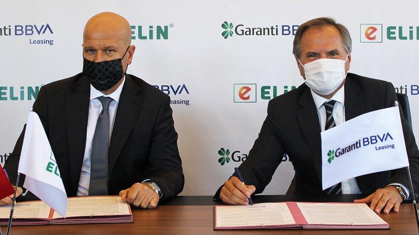Garanti BBVA Leasing ve Elin Enerji işbirliği protokolü imzaladı