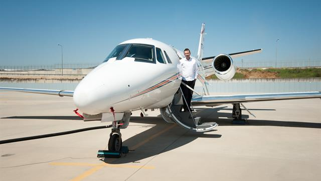 Özel jet sektörü yükselişte