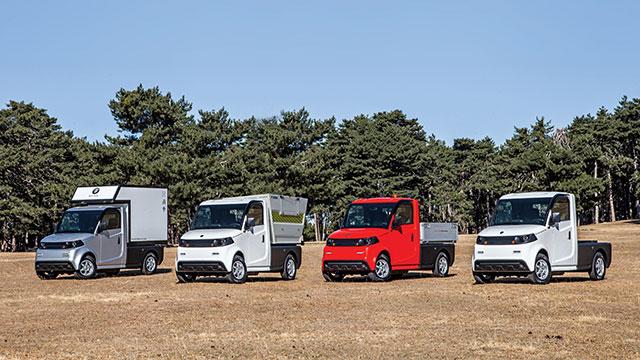 PILOTCAR'ın ürettiği elektrikli mini kamyonet yollarda
