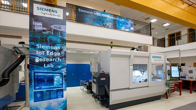 Koç Üniversitesi-Siemens IoT EDGE Araştırma Laboratuvarı kuruldu