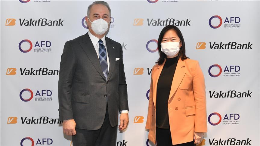 Fransız Kalkınma Ajansı'ndan VakıfBank'a 200 milyon avro kredi