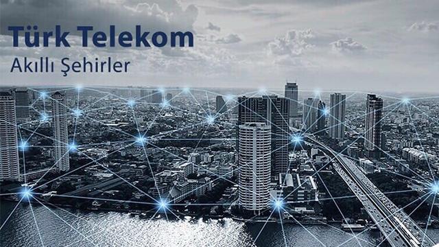 Türk Telekom ile akıllı şehirlerde tasarruf
