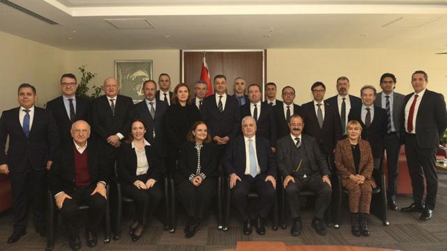 Tamer Saka yeniden TÇMB'nin başkanı seçildi