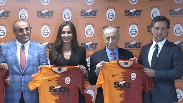SIXT, Galatasaray'ın forma sponsoru oldu