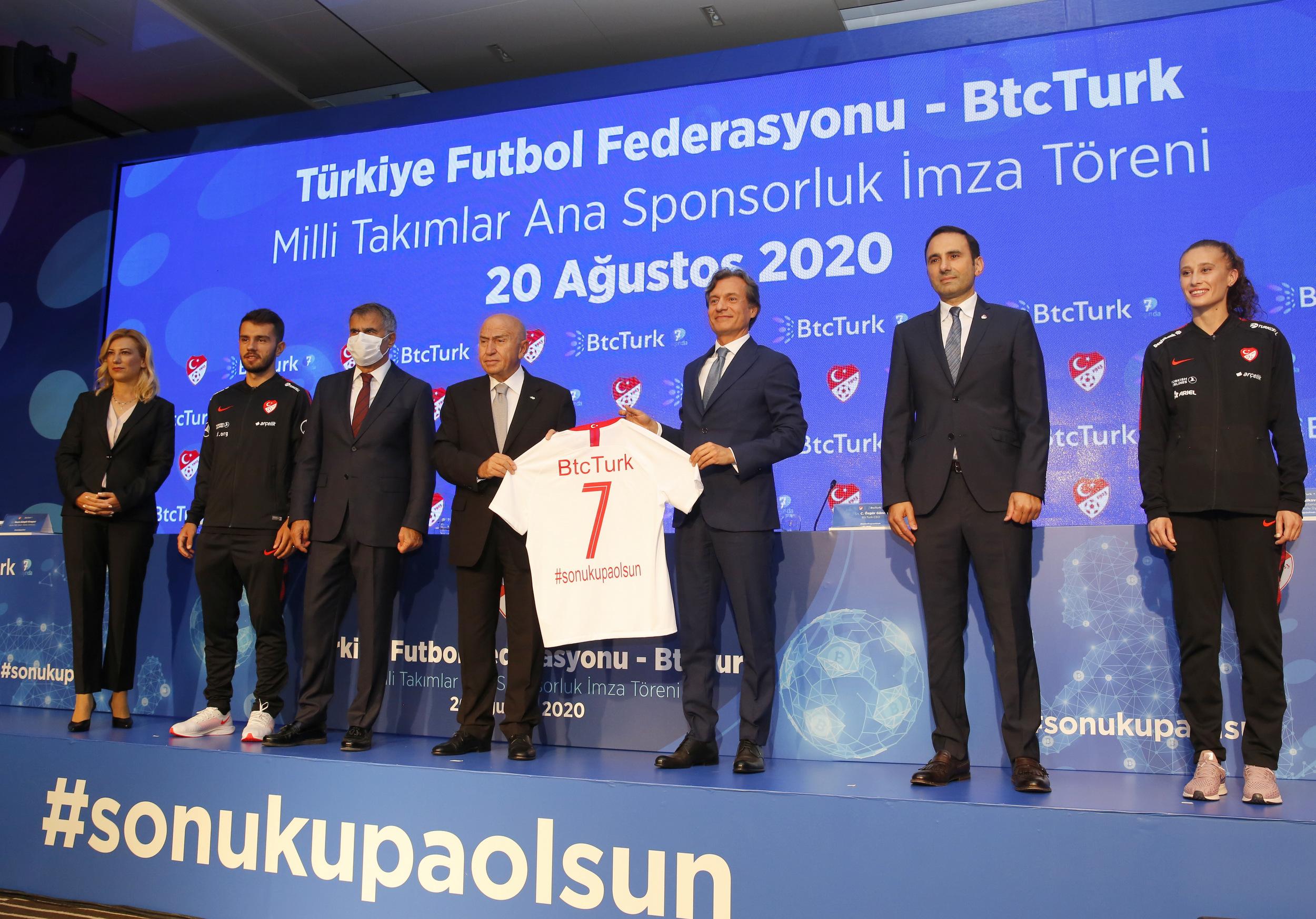 BtcTurk, Kadın ve Erkek Milli takımlarının ana sponsoru oldu