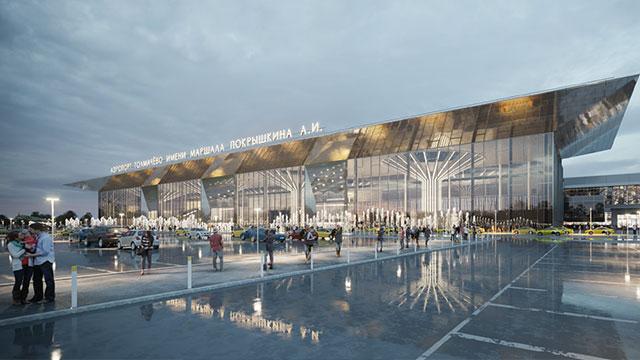 Türklerden Rusya'ya bir havalimanı daha