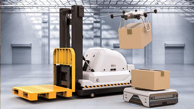 Akıllı tedarik otomasyonu ve lojistik, yapay zeka ve robotlara emanet