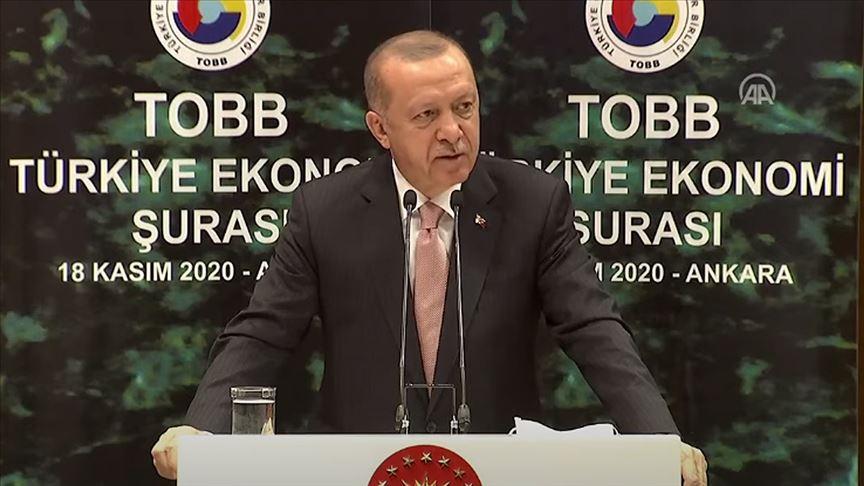 Erdoğan: Yüksek faize yatırımcımızı ezdirmememiz gerekiyor
