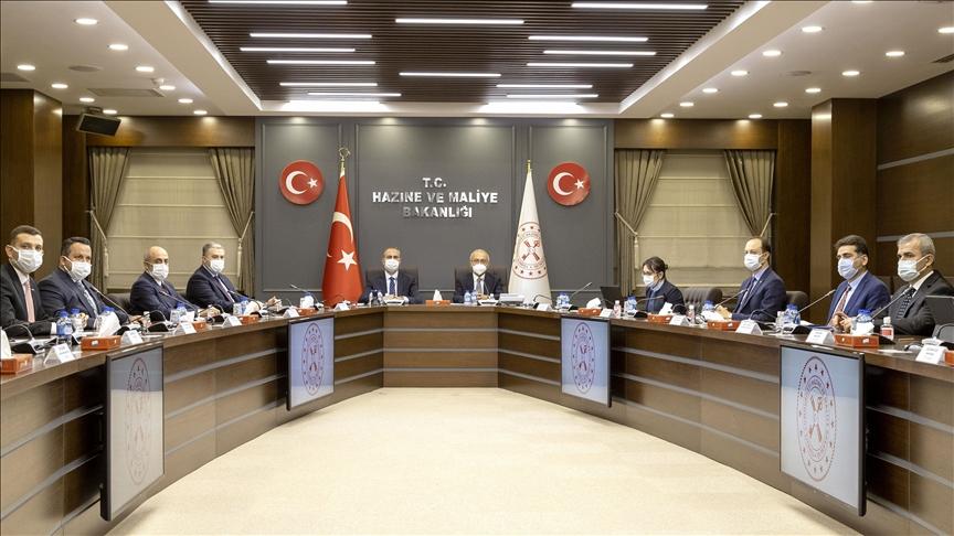 Hazine ve Maliye Bakanı Elvan ile Adalet Bakanı Gül, MÜSİAD ile bir araya geldi