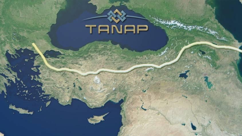 TANAP'tan bugüne kadar 9,1 milyar metreküp gaz akışı gerçekleşti