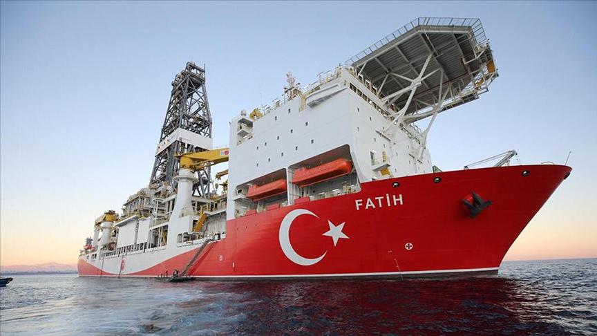 Fatih sondaj gemisi Karadeniz'de Türkali-2 kuyusuna ulaştı