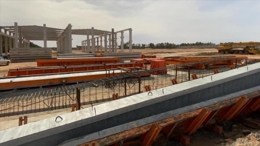 Libya'da Türk şirket, en büyük beton üretim tesisini açtı