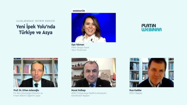 Türkiye; Yeni İpek Yolu'nda üretim, ihracat, lojistik ve yönetim merkezi olarak öne çıkıyor