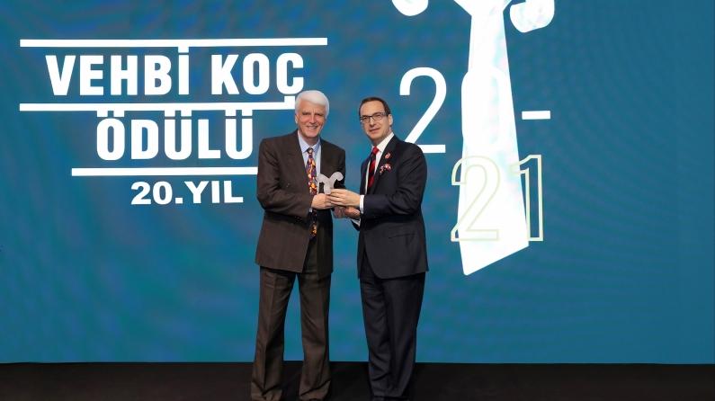 20. Vehbi Koç Ödülü'nün sahibi Prof. Dr. Hüseyin Vural oldu