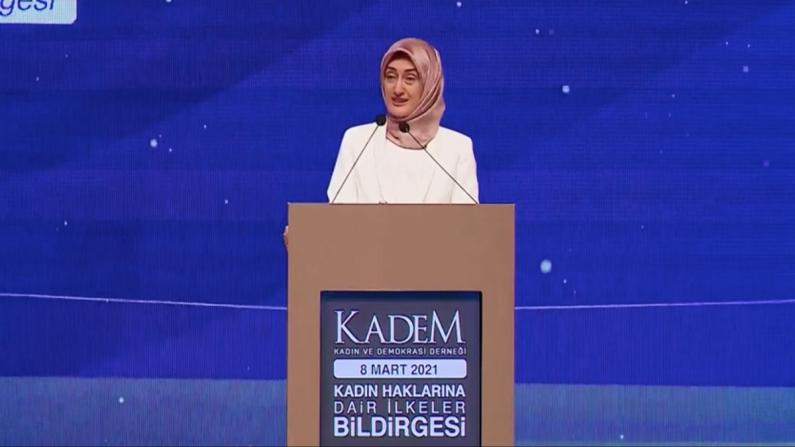KADEM, 'Kadın Haklarına Dair İlkeler Bildirgesi'ni açıkladı