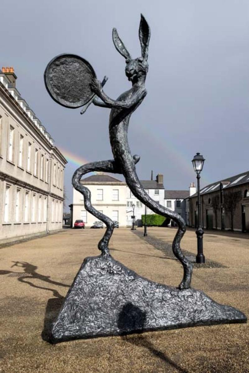 <p>Dublin Modern Sanat Müzesi de sanat tutkunlarına ilham veriyor.</p>