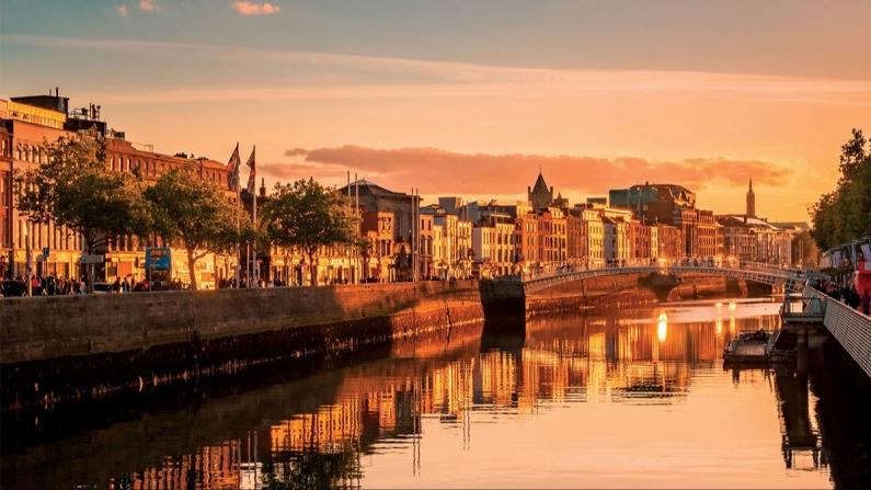 Kültür ve tarih şehri Dublin