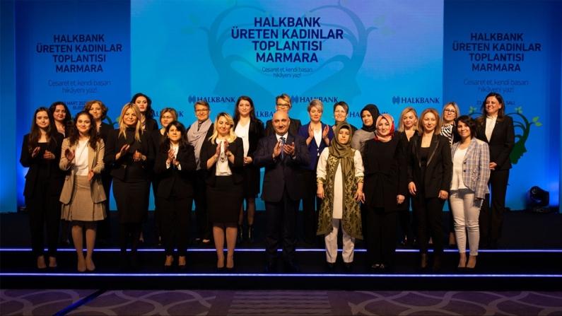"""Halkbank'ta """"Kadın Girişimci"""" bölümü kuruldu"""
