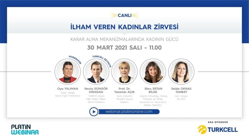 Turkcell sponsorluğunda İlham Veren Kadınlar bir araya geliyor