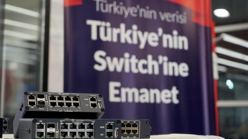 """Türk verisinin güvenliğini """"Türkiye'nin Switch""""i sağlayacak"""