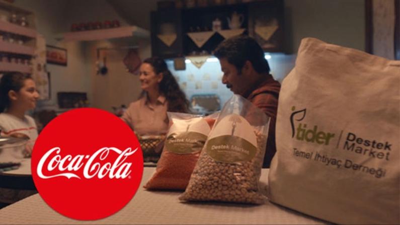 Coca-Cola'dan Ramazan'da 1 milyon öğünlük temel gıda desteği