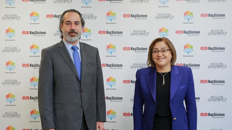 Gaziantep ile KoçSistem'den akıllı şehir iş birliği