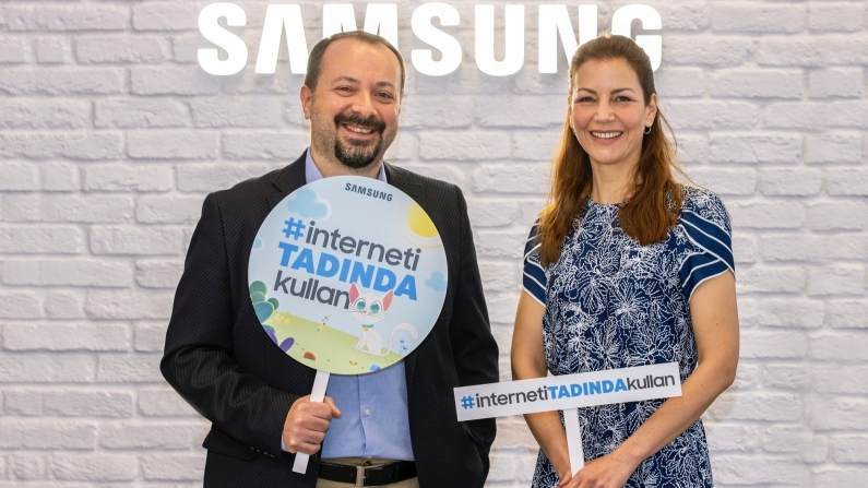 Samsung ve TOÇEV'den ebeveynlere internet rehberliği