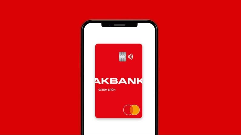 Akbanklılar banka kartlarını mobilde de kullanabiliyor