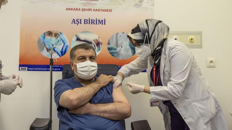 Türkiye en çok aşı yapılan 7. ülke oldu