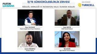 Turkcell ana sponsorluğunda Platin Dergisi'nin İş'te Sürdürebilirlik Zirvesi gerçekleşti
