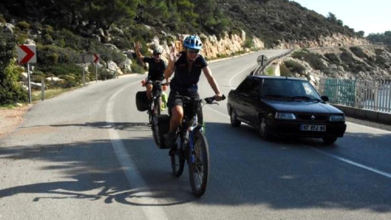 Türkiye'de bisikletli yolculuk hedefi