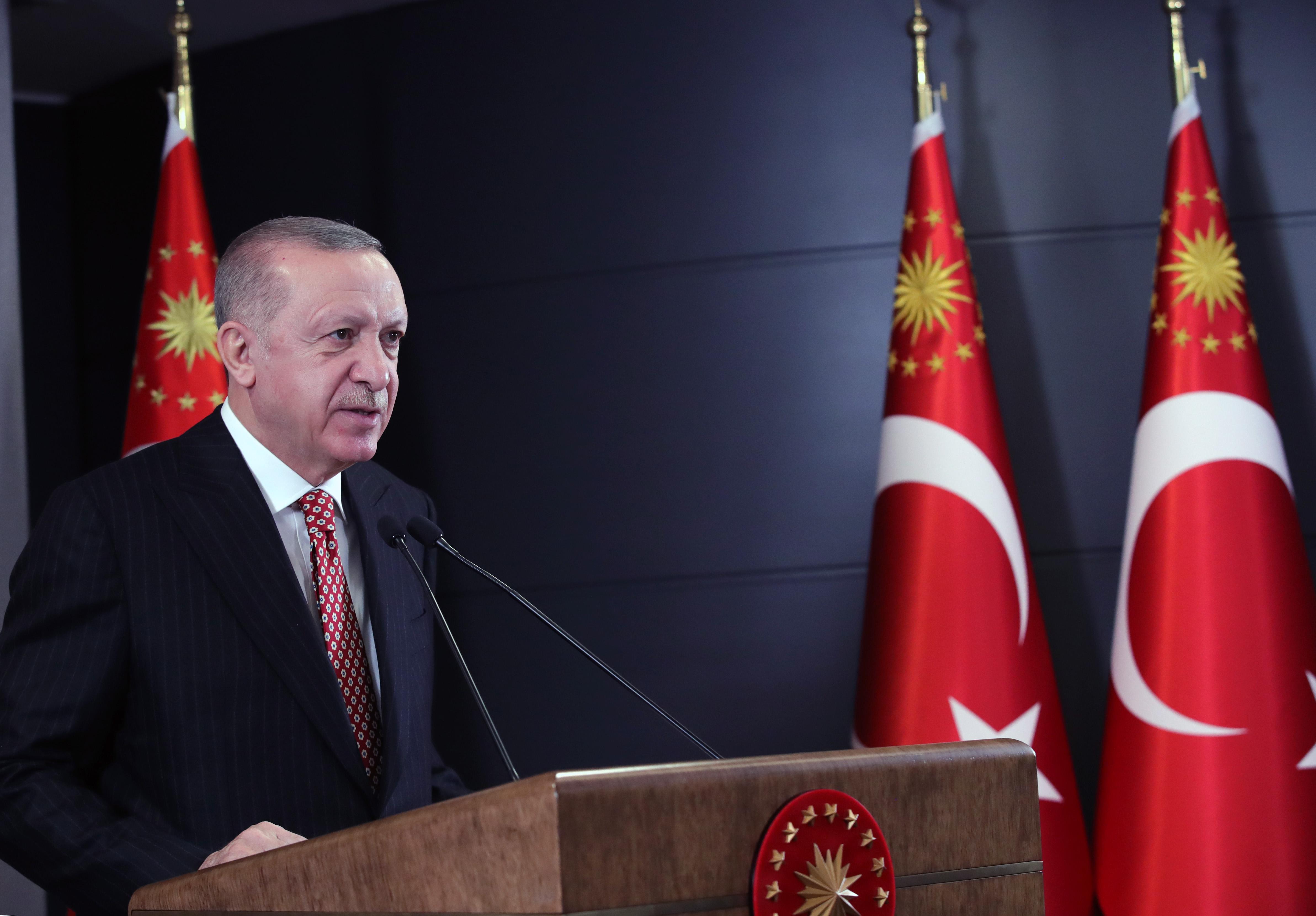 Erdoğan: 'Kontrollü normalleşme' pazartesi başlıyor