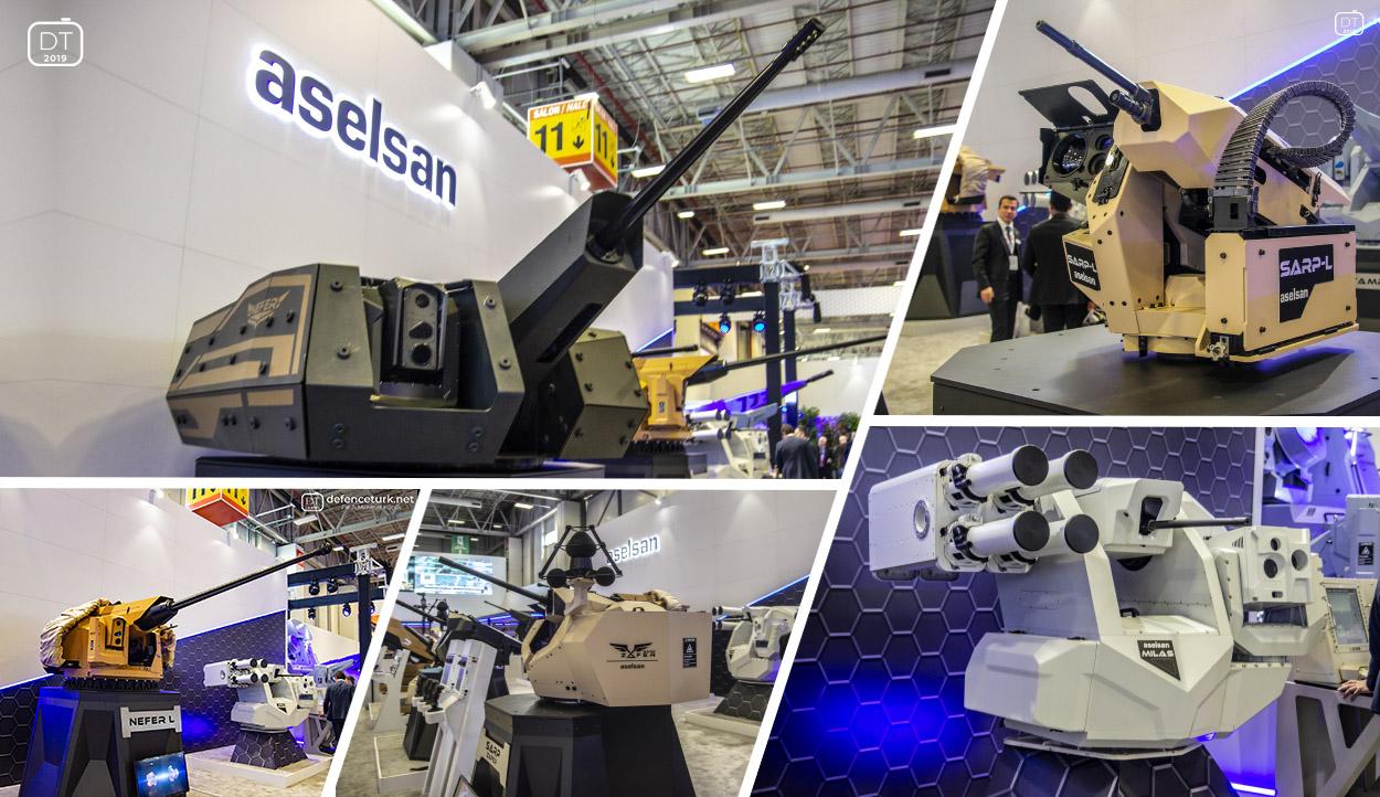 ASELSAN'ın gelişmiş silah sistemleri dünyaya yayıldı