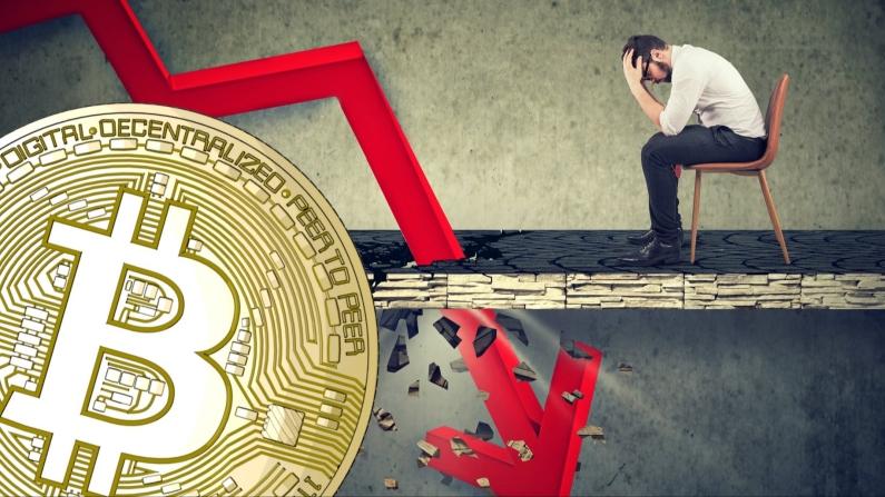 Bitcoin yüzde 40'ın altına indi