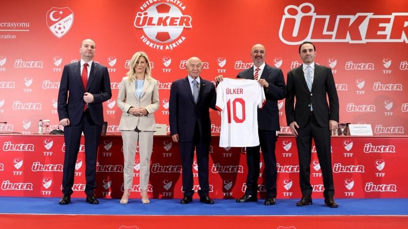 TFF ile Ülker'den 5 yıllık anlaşma