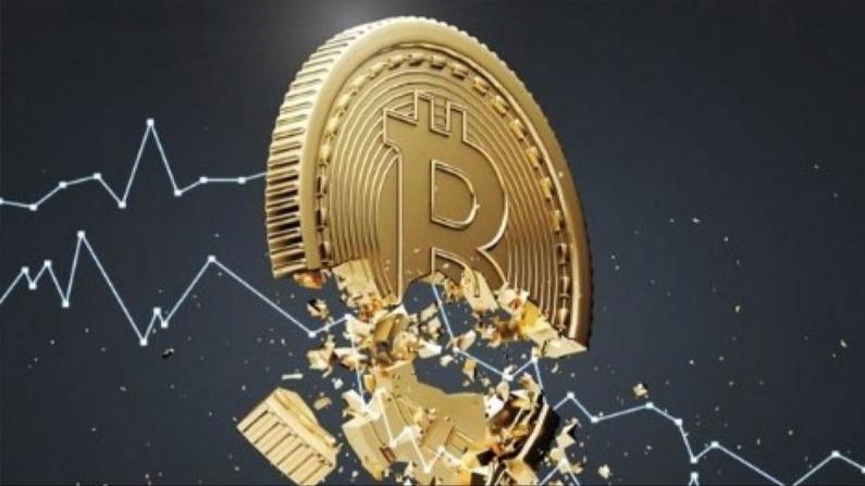 Bitcoin'de bir haftada 900 milyar dolar eridi
