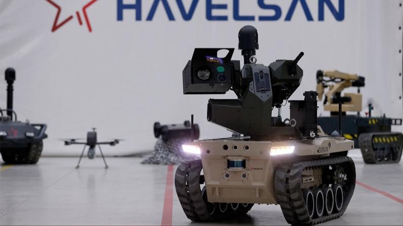 Robot asker Barkan göreve hazırlanıyor