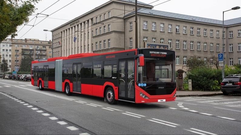 Otokar Slovakya'ya otobüs ihraç ediyor