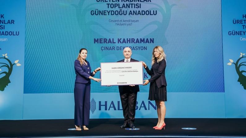 Halkbank'tan kadın girişimcilere büyük destek