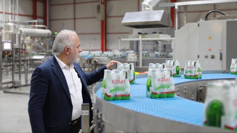 Kızılay İçecek, Erzincan'da üretim kapasitesini artırdı
