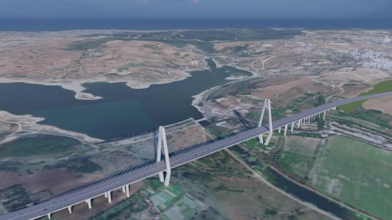 Kanal İstanbul'a ilk köprü kuruluyor