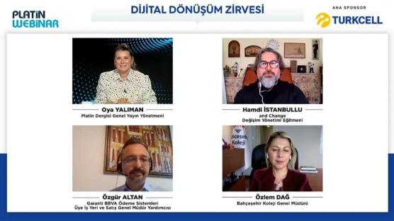 Turkcell ana sponsorluğunda 'Dijital Dönüşüm Zirvesi' gerçekleştirildi