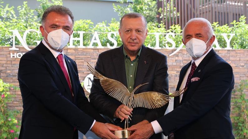 NG Phaselis Bay, Cumhurbaşkanı Erdoğan'ın katılımı ile açıldı