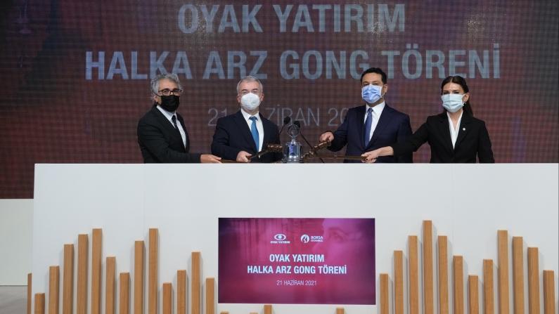 """Borsa İstanbul'da gong """"OYAK Yatırım"""" için çaldı"""